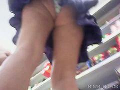 Supermarket, Upskirt supermarket, Skirts, Mark, Market, Upskirt