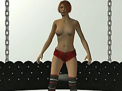 Becky, Super model, Excite, Erotic dance, Dance erotic, I 3d