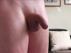 Huge cock, Handsfree, Fun, Hand free, Oily, Play cock
