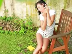 Gadis cilik kebun, D kebun