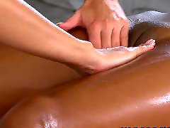 Lesbian massage, Lesbian orgasm, Ebony lesbian
