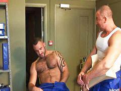 ليه, عضلات, غرفة, سكس بزاز, جنسي, مم