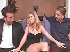 Son threesome, Allison pierce, Npi, Dvp, Threesome