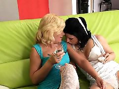 Young three, Young and old lesbian, Matures on couch, Mature fun, Mature couch, Lesbians old and young