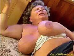 Old mom, Old, Big cock, Big mom, Mom