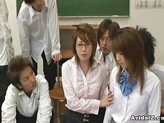 Fudendo professoras, Abusa da professora, Japonês