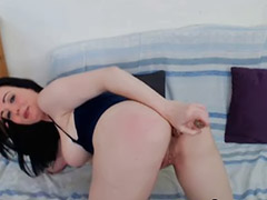 Anal, Black anal, Black, Webcam, Amateur, Big tits