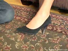 Chubby, Footj, Footjobs, Great r, Babe footjob, Babe cute