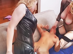 Threesome, Lesbian strap on, Lesbian anal, Anal, Lesbian threesome, Asian lesbian