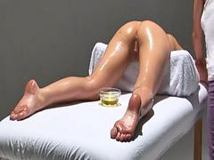 Massage, Orgasm, Oil, Erotic, Sag, Oiled