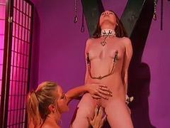 Vaginas de rubias, Pelirroja rubia, Masturbacion fetiche, Lesbianas dominando, Lesbiana masturbada, Lamiendo vaginas