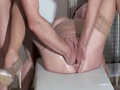 Fisting, Piss, Pissing, Wife, Orgasm