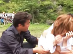 Public blowjob, Japanese, Blow bang, Public sex, Hot japanese, Public gangbang