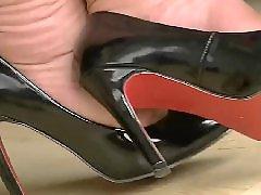 黑色高跟, 高跟 戀足, 高跟黑丝袜, 高跟脚, 高跟丝袜, 足 丝袜