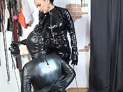 Vinyl, Whipped slave, Slave domina, Slave german, Füße domina, Domina german