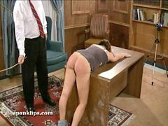 Spankin, Serious, Seriously, Bruntte, Upset, Spanking