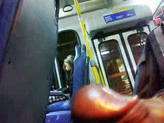 Bus, Teen, Flashing