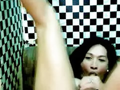 Shemale, Tranny, Asian black sex, Asian black cock, Amateur shemale, Tranny sex