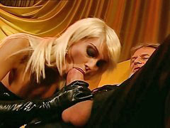 Latex slut, In double, Double teamed, Double team, Double blonde, Double blond