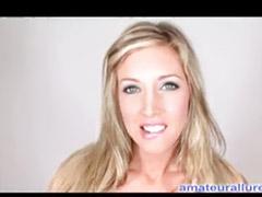 Samantha q, All star, Samantha, Sucking cum, Samantha t, Blonde swallow