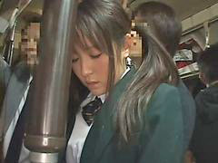 Train, Schoolgirl, Groped, Groping, Training, Grope