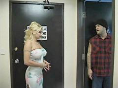Blonde, Bathroom, 2 in 1, Fuck, Hot, Blond