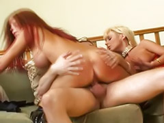 Double anal, Threesome, Anal