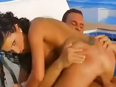 Anal group, Big cock pool, Rican, Pool sex, Pool anal, Fair