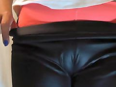 Leather, Amateur, Latin, Cameltoe