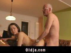Horny, Old, Girl