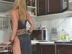 Milf, Kitchen, In kitchen, Kit, Milf kitchen, Milf in kitchen