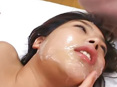 Japanese, Japanese facial, Sloppy, Asian bukkake, Model asian, Sloppy sex