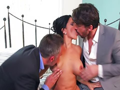Kitty, Threesome anal, Latina threesome, Diamond kitty, Anal threesome, Anal dp