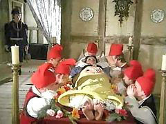 Snow white and 7 dwarfs, White cock, While watching, Princes, While watches, Watching cock