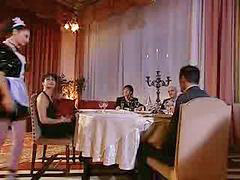 Mucama}, Usando, Italian por, Cena, Sirvienta, Italianas