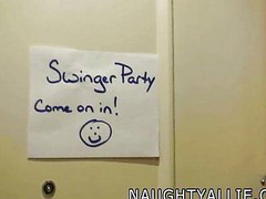 Joins, At party, Swingers party, Swinger parti, Join, Joins in