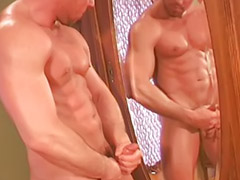 Hot muscular, Lup, Shotting, Shot cum, Solo masturbating, Solo masturbated