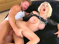 Big cock, Orgasm, Screaming, Scream