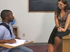 Teacher seduces, Teacher seduced, Teacher seduce, Seducing teacher, Seduces black, Brunette black cock