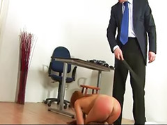 Spanked by teacher, Bondage, Asian toys, Head shaving, Asian spanking, Asian teacher