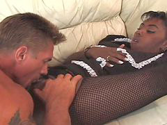 Black, Big cock, Maid