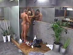 Shower, Shower,, Show dick, Tease, Angelica, Teas
