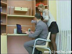 Amateur, Russian, Secretary, Russ, Very hot, A sec