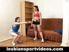 Nude, Lesbian