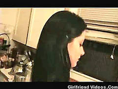 Housewife, Wife, Young, Young young sex, Young housewife, Sex kitchen