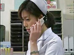 Nurse, Japanese, Kissing