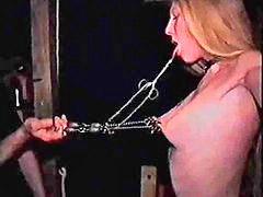 Sklavin bestraft, Bestrafen männer