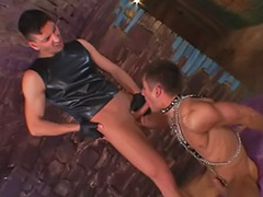 Gay, Leather, Gay leather, Anal bareback, Gay blowjobs, Leather anal