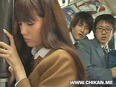 Schoolgirl, Shy