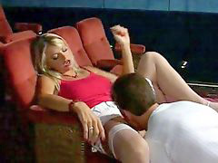 Blonde, Cinema, Threesome